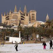 Urlauber müssen zittern! Winterhoch bringt Schnee auf die Balearen (Foto)