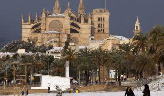 Wintereinbruch auf Mallorca lässt Urlauber zittern. (Foto)