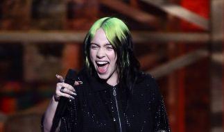 So sieht Sängerin Billie Eilish nicht mehr aus. (Foto)