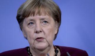 Wird der Lockdown wieder verschärft? Am Montag beraten Kanzlerin Angela Merkel und die Länderchefs über das weitere Vorgehen in der Corona-Krise. (Foto)