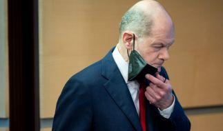 Olaf Scholz warnt vor einer Reisewelle an Ostern. (Foto)