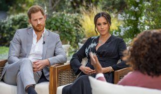 Prinz Harry hat sich nach dem Skandal-Interview bei Oprah Winfrey wieder in der Öffentlichkeit gezeigt. (Foto)