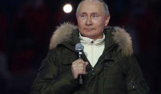 Verstößt Putin willentlich gegen den Weltraumvertrag? (Foto)