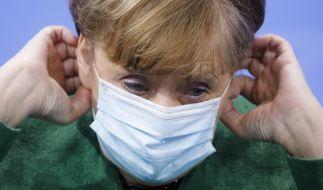 Bundeskanzlerin Angela Merkel plant offenbar die Einführung von nächtlichen Ausgangssperren in Regionen mit höherer Sieben-Tage-Inzidenz. (Foto)