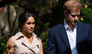 Meghan Markle und Prinz Harry mussten royale Titel und Schirmherrschaften abgeben. (Foto)