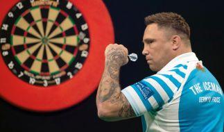 Gerwyn Price ist als Darts-Profi in der PDC nicht unumstritten. (Foto)