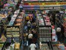 Wird der Supermarkteinkauf am Karsamstag zum Superspreaderevent? (Symbolfoto) (Foto)