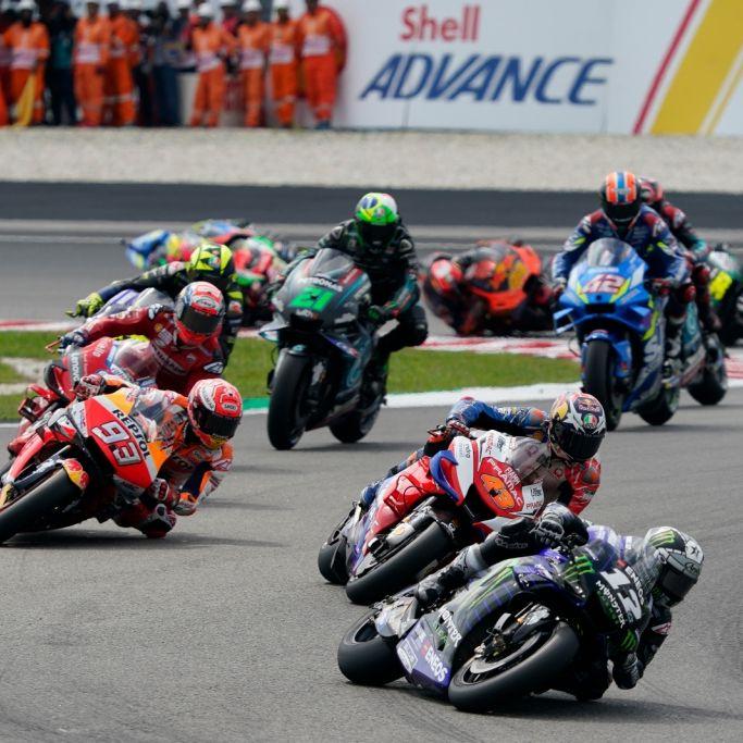 Ergebnisse in MotoGP, Moto2 und Moto3 - Lowes siegt, Schrötter auf Platz 8 (Foto)