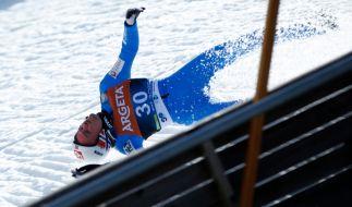 Skiflug-Weltmeister Daniel Andre Tande ist im slowenischen Planica schwer gestürzt. (Foto)
