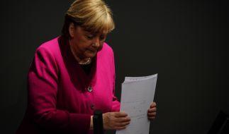 Ist Angela Merkel die Kraft ausgegangen? (Foto)
