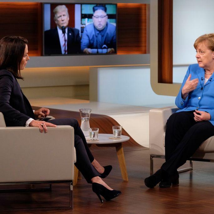 Heute steht Kanzlerin Angela Merkel ihr im TV Rede und Antwort (Foto)