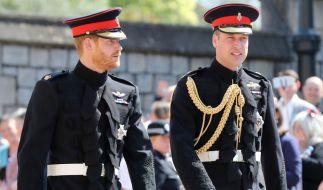Nach der Hochzeit von Prinz Harry und Meghan Markle im Mai 2018 nahm der Streit mit Prinz William immer hässlichere Züge an - jetzt könnte sich eine Versöhnung abzeichnen. (Foto)