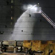38 Linienbusse verbrannt - technischer Defekt als Brandursache (Foto)