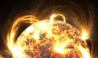 Ein massiver Sonnensturm soll die Erde im Jahr 2025 treffen. (Foto)