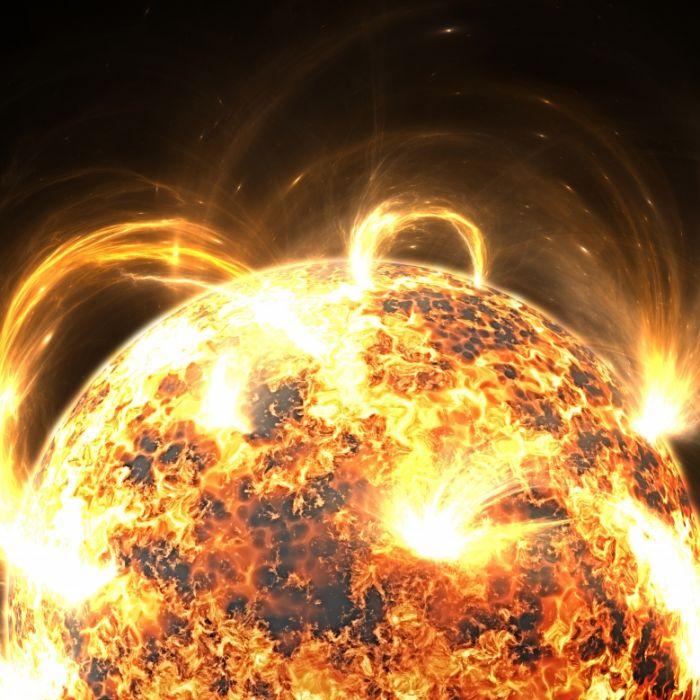 Gefahr aus dem All! Sonnensturm rast auf die Erde zu (Foto)