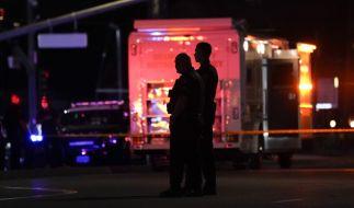 In Kalifornien sind bei einer Schießerei in einem Bürogebäude vier Menschen getötet und mehrere verletzt worden. (Foto)