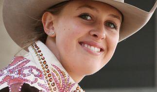 Gina-Maria Schumacher ist begeisterte Western-Reiterin. (Foto)