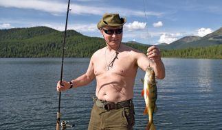 Putin wurde zum heißesten Mann Russlands gewählt. (Foto)