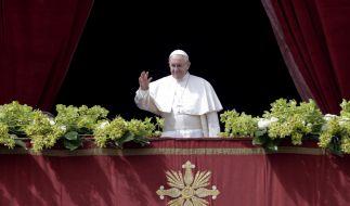 """Papst Franziskus wird am Ostersonntag 2021 den Ostersegen """"Urbi et Orbi"""" spenden. (Foto)"""