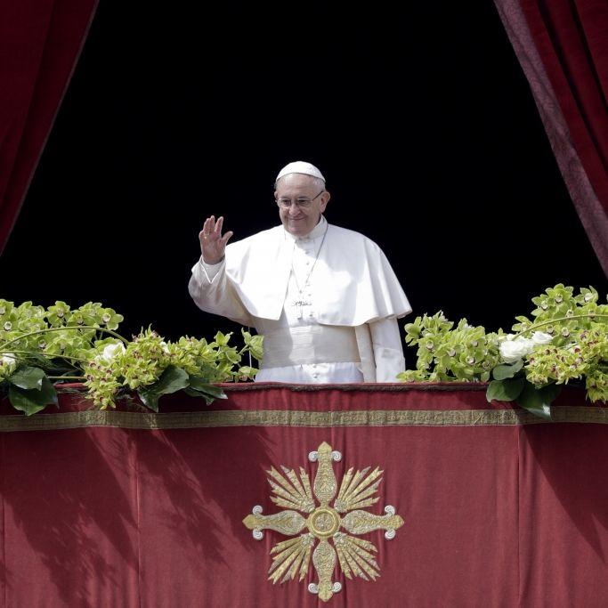 """Ostermesse trotz Pandemie - Papst Franziskus spendet Segen """"Orbi et Orbi"""" (Foto)"""
