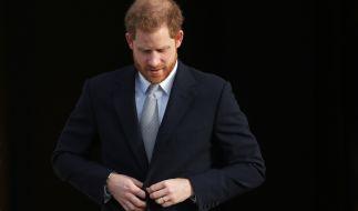 Prinz Harry, Herzog von Sussex, ist traurig, dass es soweit gekommen ist. (Foto)