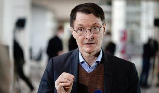 SPD-Gesundheitsexperte Karl Lauterbach fordert einen harten Lockdown, um die dritte Welle zu brechen. (Foto)