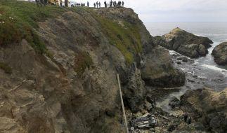 Zwei Frauen stürzten in San Francisco mit ihrem PKW von einer Klippe der Bodega Bay. (Foto)
