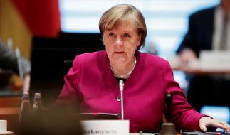 Kanzlerin Merkel befürwortet die Forderungen nach einem konsequenten Lockdown. Das gab die Regierungssprecherin bei der Bundespressekonferenz in Berlin bekannt. (Foto)