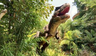 Kaum vorstellbar, was ein T-Rex auf der Erde alles anstellen könnte. (Foto)