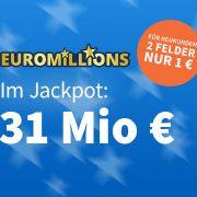 Heute geht es um 31 Millionen Euro – Jetzt 5 € Rabatt sichern! (Foto)