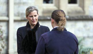 Gräfin Sophie von Wessex verriet nach dem Tod von Prinz Philip Einzelheiten zu den letzten Momenten ihres Schwiegervaters. (Foto)