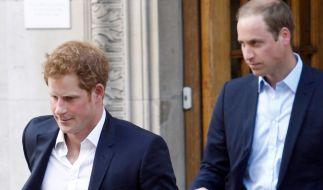 Der Tod von Prinz Philip könnte für die Prinzen Harry und William das Ende ihres Bruderzwists bedeuten. (Foto)