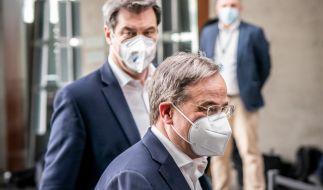 Markus Söderund Armin Laschet: Wer gewinnt das Rennen um die Kanzlerkandidatur? (Foto)