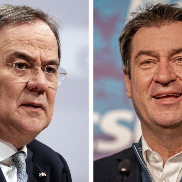 Zoff um Kanzlerkandidatur! Knallt es heute in der Union? (Foto)