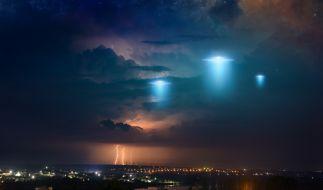 Über einem US-Schiff könnten UFOs aufgetaucht sein. (Foto)