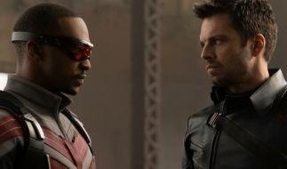 "Sebastian Stan (rechts) spielt im MCU den ""Winter Soldier"" Bucky Barnes. (Foto)"