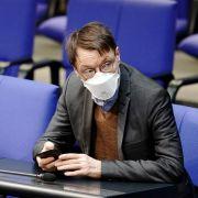 Karl Lauterbach, Gesundheitsexperte der SPD, hält die Corona-Notbremse für unzureichend im Kampf gegen die Corona-Pandemie.