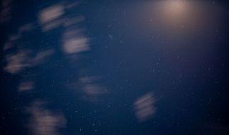 Am Himmel über Australien sorgten Starlink-Satelliten für Aufruhr. (Foto)