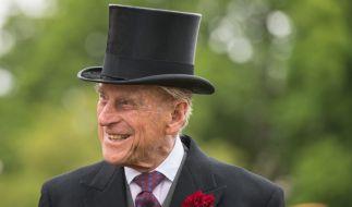 Im Kreise seiner Familie blühte Prinz Philip richtig auf. (Foto)