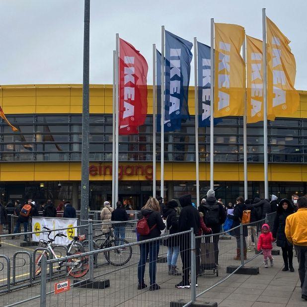 Nur noch mit Luca-App zu Ikea? Kunden protestieren im Netz (Foto)