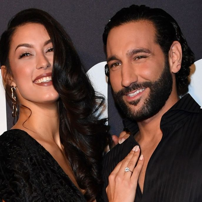 1. Baby-Foto! Model und Mann Massimo Sinato sind Eltern geworden (Foto)