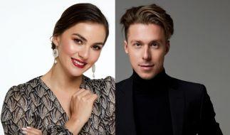 """Privat ein Paar, bei """"Let's Dance"""" Konkurrenten: Renata und Valentin Lusin. (Foto)"""
