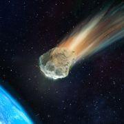 Ein Asteroideneinschlag könnte eine Flüchtlingskrise auslösen.