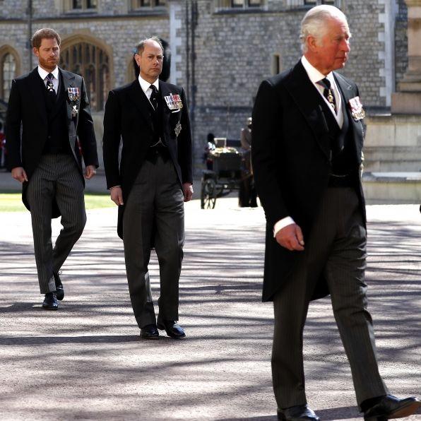 Friedensgipfel auf Schloss Windsor vor Harry-Rückreise am Montag (Foto)