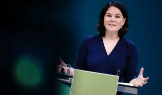 Kanzlerkandidatin der Grünen Annalena Baerbock wird im Netz scharf kritisiert. (Foto)