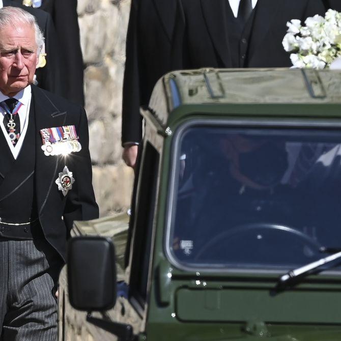 Er trauert einsam! Wo sich Charles nach der Harry-Aussprache versteckt (Foto)