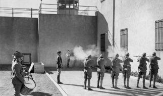 Der Massenmörder wünscht eine Hinrichtung durch ein Exekutionskommando. (Foto)