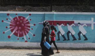 Ein Land im Würgegriff der Pandemie: Indien mit seinen 1,3 Milliarden Einwohnern hat bereits mehr als 16 Millionen Coronavirus-Infektionen erfasst. (Foto)