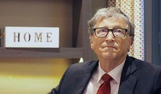 Bill Gates hat sich über das vermeintliche Ende der Corona-Pandemie geäußert. (Foto)