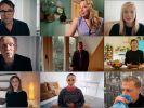 Die Kombo aus einzelnen Video-Standbildern der Internetaktion #allesdichtmachen via Youtube zeigt Schauspieler, die sich an der Internetaktion unter dem Motto #allesdichtmachen beteiligen. (Foto)